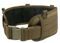 Tactical belt Pouch molle Modular millitary paintball vest airsoft coyote brown