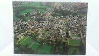 Vintage Postcard Aerial View of Cambridge Uk showing the Colleges 1982