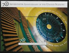 UN Scott #NY 1123, Souvenir Sheet 2015 Complete Set FVF MNH