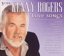 Kenny Rogers Love Songs 3 CD Set  - Country Music