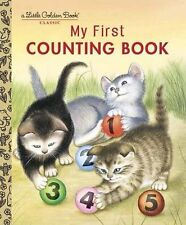 My First Counting Book by  Lilian Moore (2001,Hardcover) Little Golden Book