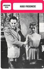FICHE CINEMA :  HUGO FREGONESE -  Argentine (Biographie/Filmographie)