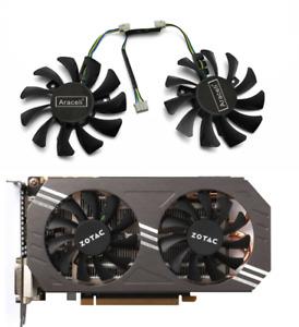 Fans GA81O2U - PFTG GTX970 12V 0.38A Cooler Fan Replace For ZOTAC GeForce 970