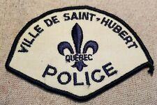 Ca Ville De Saint-Hubert Quebec Canada Police Patch