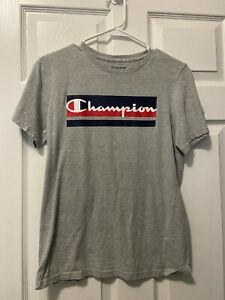 Champion Logo Short Sleeve T-Shirt Boys Size XL