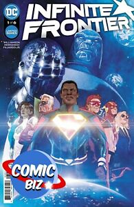 INFINITE FRONTIER #1 (2021) 1ST PRINTING GERADS MAIN COVER DC
