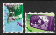 Netherlands- 1988 - Europa stamps - Transport and Environment - MNH