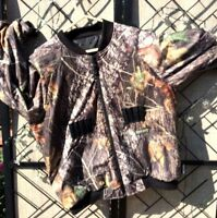 Lewis & Clark Jacket Hunting Camouflage Zip Thinsulate Bullet Holders Men's L