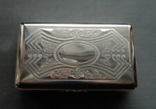 Hansaware Sterling Silver Jewel Box Made in Germany