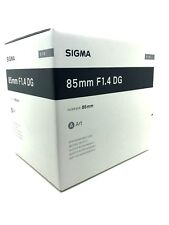 New SIGMA 85mm f/1.4 DG HSM Art Lens for SIGMA Mount (SA) Made in Japan