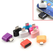 3X Micro USB Male to USB 2.0 Adapter OTG Converters For Android Tablet Phone ^F