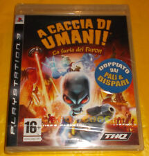 Hunting human the Fury of named ps3 Ver Italian 1ª and ○○ NEW SEALED