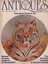 ART & ANTIQUES WEEKLY (17 June 1976) SAMUEL COUSINS - ANIMALS IN VICTORIAN ART