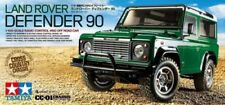 Tamiya 58657 Land Rover Defender 90 CC01 RC Kit - DEAL BUNDLE w/STEERWHEEL Radio