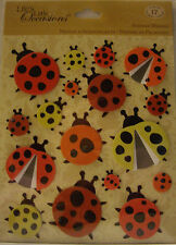 NEW 17 pc LADYBUGS STICKER MEDLEY Ladybug Ladybird Lady Bug Spots  K & CO