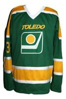 Any Name Number Size Toledo Goaldiggers Custom Hockey Jersey Green