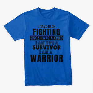 I Am A Warrior Premium T-Shirt - 100% Cotton By Graphic Tees Designs