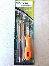 """NEW CHAINSAW CHAIN SHARPENING FILE AND GUIDE 3/16"""" (4.8MM)"""