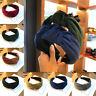 Retro Thick Velvet Women Wide Headband Cross Knotted Head Hoop Hair Accessories