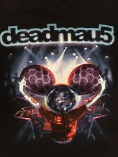 DEADMAU5 DJ Black Concert DJ T-Shirt  Sz.S