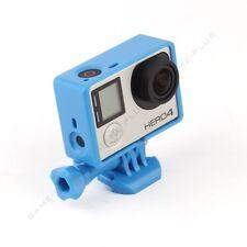 Standard Frame Border Mount Cover Housing Case for GoPro Hero 3 3+ 4 Camera Blue