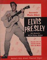 ELVIS PRESLEY 1956 MR. DYNAMITE ORiGINAL RARE 'ALBUN' ERROR VERSION PROGRAM BOOK