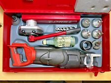 T Drill T 65 Battery Operated Copper Pipe Tee Forming Collaring Machine