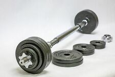Omnie 65 LBS Adjustable Dumbbells Barbell Fitness Weight Set Gym Body Workout