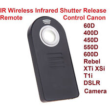 IR Wireless RC-6 Remote Control Shutter Release for Canon EOS 100D with Battery