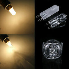 10X G9 Halogen Warm White Office Capsule Frosted Light Bulb Lamp 40W 220V