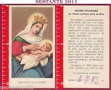 1725 SANTINO HOLY CARD S. MARIA MADONNA  DELLE GRAZIE ED G MI ED. G MI. 143