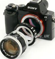 Leica L39 to Sony NEX E-Mount Adapter + 2x Lens Caps / LEICA LTM Lens on E-Mount