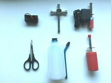 RC Nitro Gas Starter Tool Kit For 1/8 or 1/10 RC Car Fuel Bottle Glow Igniter