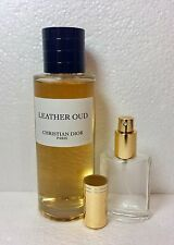 LEATHER OUD by Christian Dior 50 ML,1,7 fl.oz Sample in Glass Atomizer,EDP.