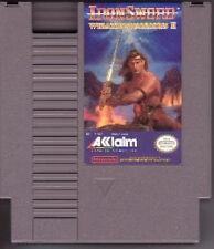 IRONSWORD WIZARDS AND WARRIORS II 2 IRON SWORD NINTENDO GAME ORIGINAL NES HQ