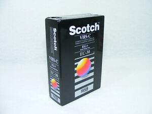 SCOTCH VHS-C EC-30 EG+ neuve sous blister 3M VHS C Cassette video camescope