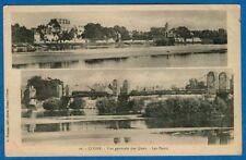Vue Generale Des Quais - Les Ponts, Cosne, France - Early Postcard