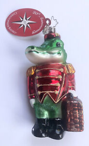 """Christopher Radko 20th Anniversary Ornament """"Snappy Hotel"""" Made In Poland"""