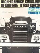 1963 Dodge Gas Semi Truck 12-page Car Sales Brochure - C-800 C-900 CT800 CT700