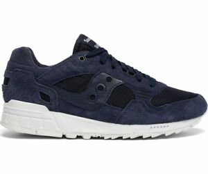 Saucony Men's Shadow 5000 Running Shoes S70442-1 Navy White Brand New!