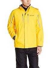 Columbia Cubist IV Omni Heat Waterproof Ski Snow Jacket Coat- Bright Yellow M
