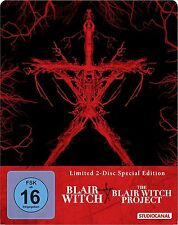 STEELBOOK Blair Witch & Blair Witch Project Limited Edición 2 BLU-RAY metalpak