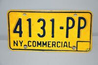 1973-1986 New York License Plate #4131-PP Commercial Car Man Cave Chevy Ford YOM