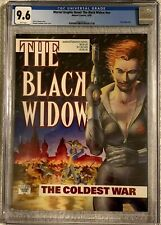 MARVEL GRAPHIC NOVEL (1990)  BLACK WIDOW CGC 9.6 NM+ nn White Pages Marvel