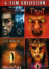 Dracula: Dark Prince & Frost & Premonition & Hell [New DVD] Full Frame