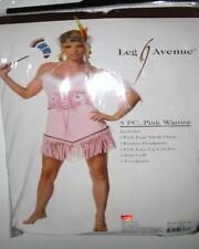 Pink Indian Costume Set Dress Tomahawk Cincher ML Leg Avenue 83110