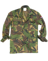 Genuine Dutch Army Issue Military Camouflage DPM Camo Field Shirt GRADE1