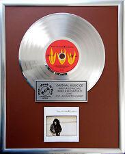 """Tears for Fears Elemental CD/Cover gerahmt +12"""" Deko goldene Vinyl Schallplatte"""
