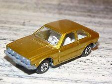 Very RARE Polistil Gold Volkswagen Scirocco RJ 52 Scale:1/64 Metal Toy Car 1977