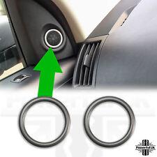 Interior door speaker trim HSE luxury Freelander 2 Silver LR2 tweeter surround